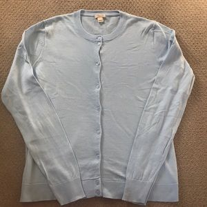 JCrew cardigan in a pretty blue
